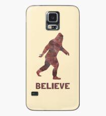 Bigfoot glauben Hülle & Klebefolie für Samsung Galaxy
