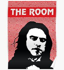 The Room Disaster Artist Tommy Wiseau Greg Sestero Poster