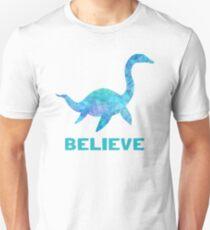 Loch Ness Monster Believe Unisex T-Shirt
