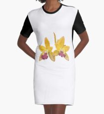 Orchids #6 Graphic T-Shirt Dress