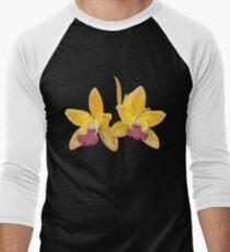 Orchids #6 Men's Baseball ¾ T-Shirt