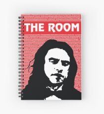 The Room Disaster Artist Tommy Wiseau Greg Sestero Spiral Notebook