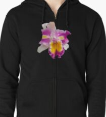 Orchids #5 Zipped Hoodie