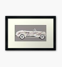 coche grease Framed Print