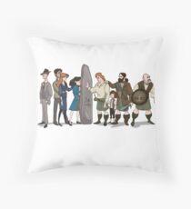 SoSass 2016 Charity Design Throw Pillow