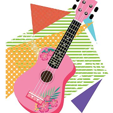 Ukulele Uke Instrument Player by epicshirts