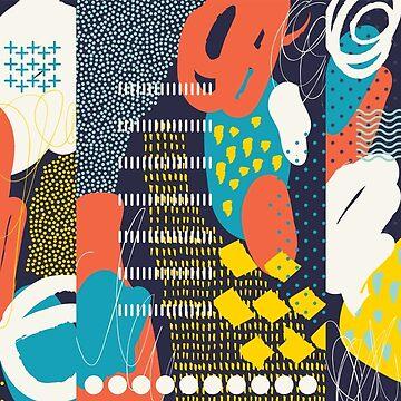 Abstract composition #7 by sobakapavlova