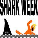 Shark Week Trump T-shirt by EthosWear