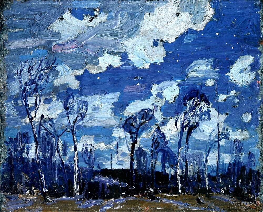 Tom Thomson - Nocturne, The Birches by virginia50