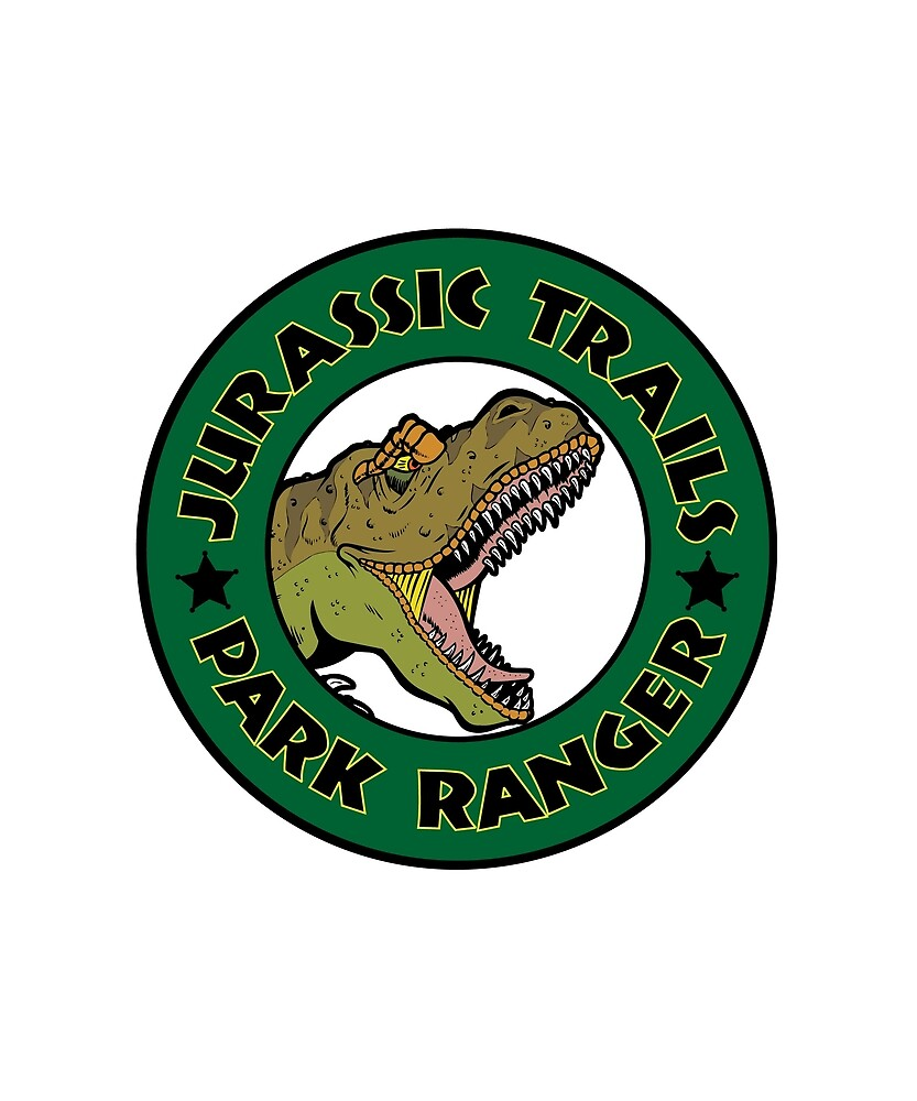 Jurassic Trails Park Ranger Design by TigersEyeStudio