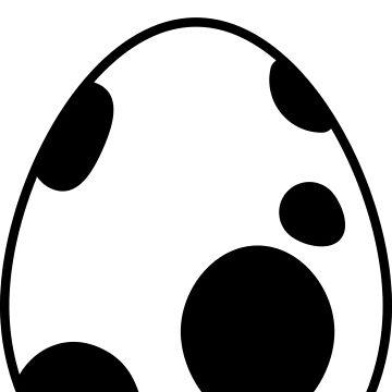 Black Pokemon Egg Hatching Oh?  by snidget
