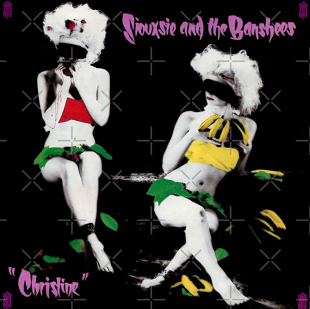 Siouxsie and the Banshees - Christine Vintage Record Album Cover by litmusician