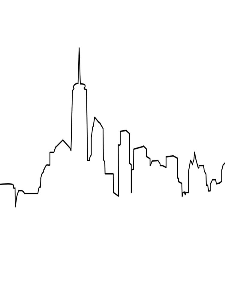 New York City Skyline by MattGall33