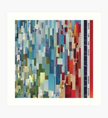 Narrow Stairs - Death Cab for Cutie - BStack Art Print