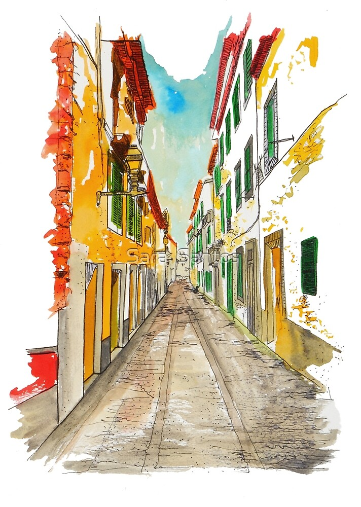Rua de S Maria - Funchal by Sara  Santos