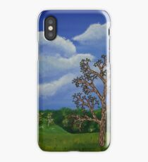 Eucalyptus and Thistles iPhone Case