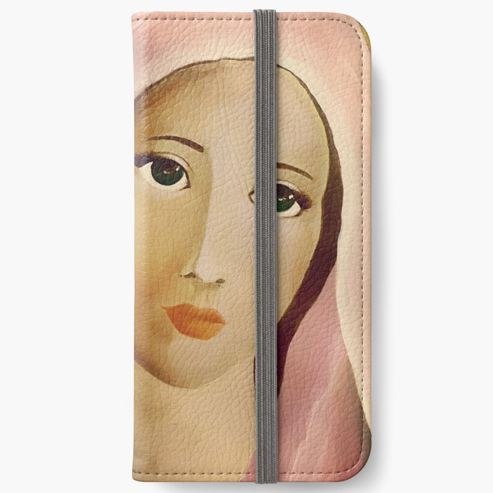 Mother Mary iPhone Wallet