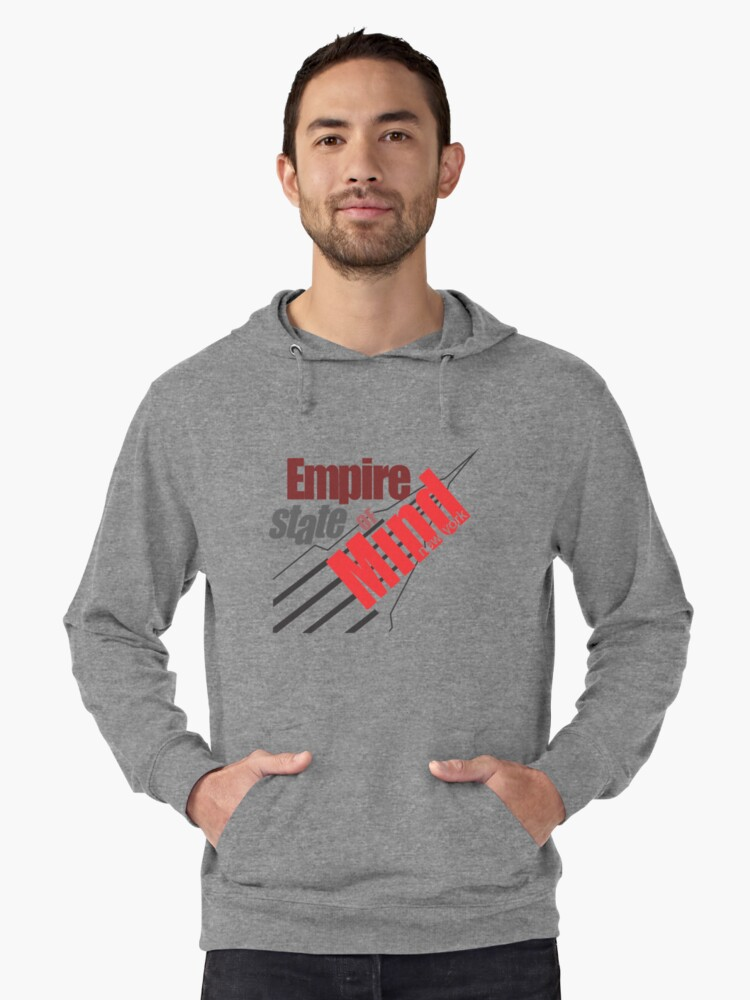 Empire State of Mind Lightweight Hoodie Front
