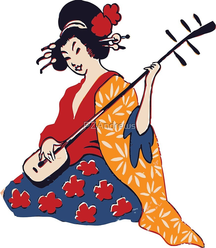 Geisha  by PZAndrews