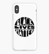 Black Lives Matter - Filled iPhone Case/Skin