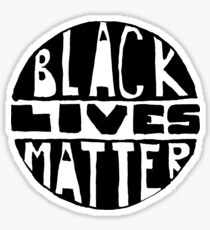 Black Lives Matter - Filled Sticker