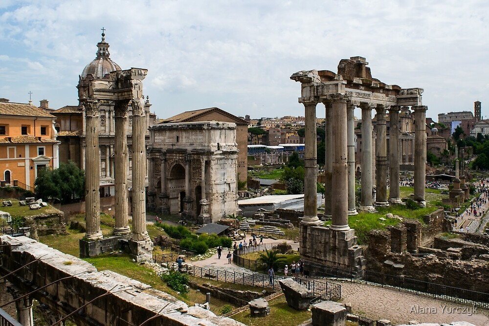 The Ruins of Ancient Rome by Alana Yurczyk