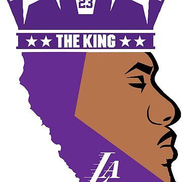 King La Lebron James by abstractoworld