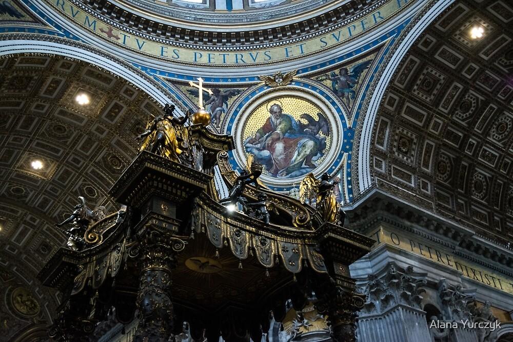 In St. Peter's Basilica by Alana Yurczyk