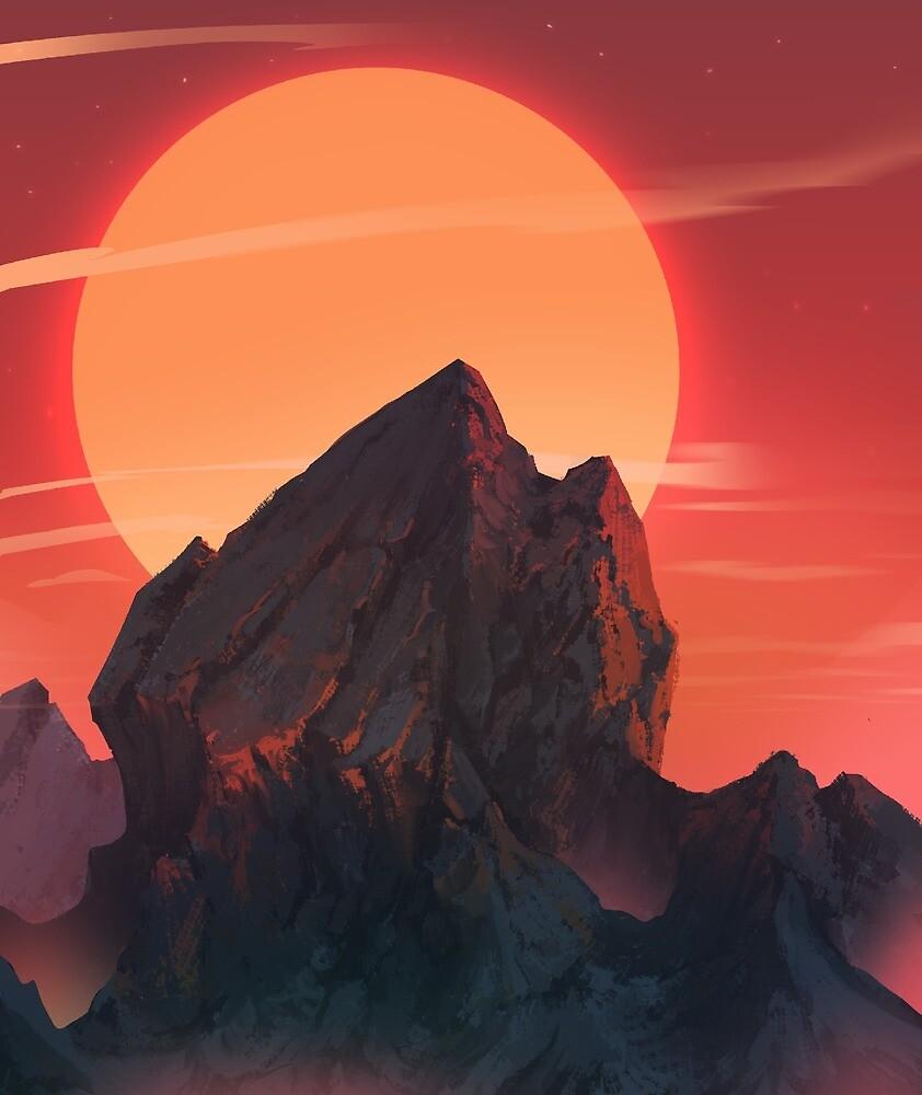 Orange Sun by Shapeless