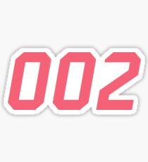 Zero Two  Sticker