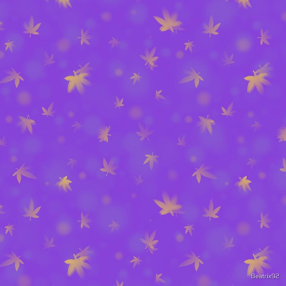Leaf Pattern by Beatrix92