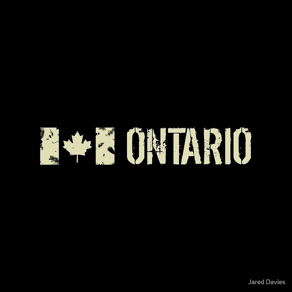Canadian Flag: Ontario by MilitaryCandA