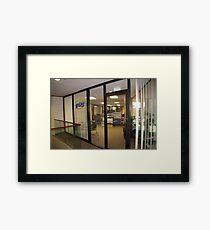 WBS Office Framed Print