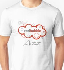 Official Redbubble Artist Slim Fit T-Shirt