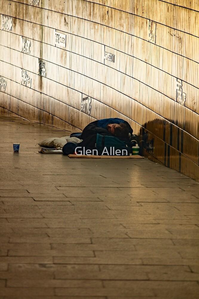 Sun Rise in the Subway by Glen Allen