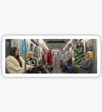 Ocean's 8 x Subway Sticker