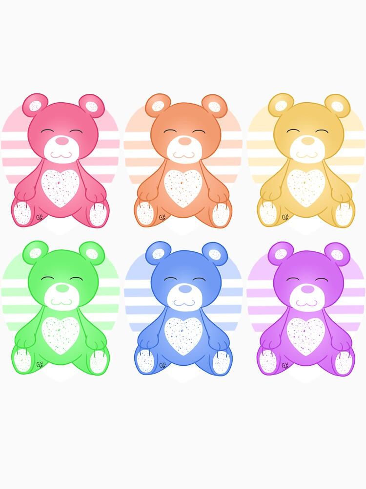 Rainbow Bears by Redvelvet4eVer