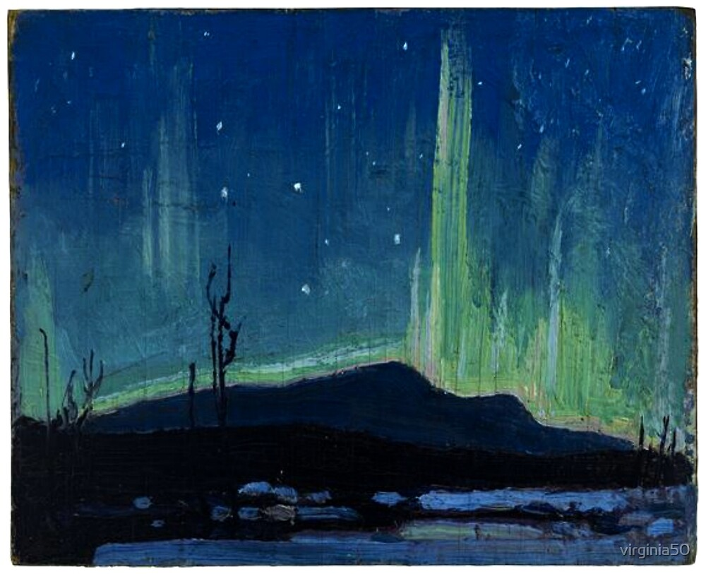 Tom Thomson - Northern Lights by virginia50