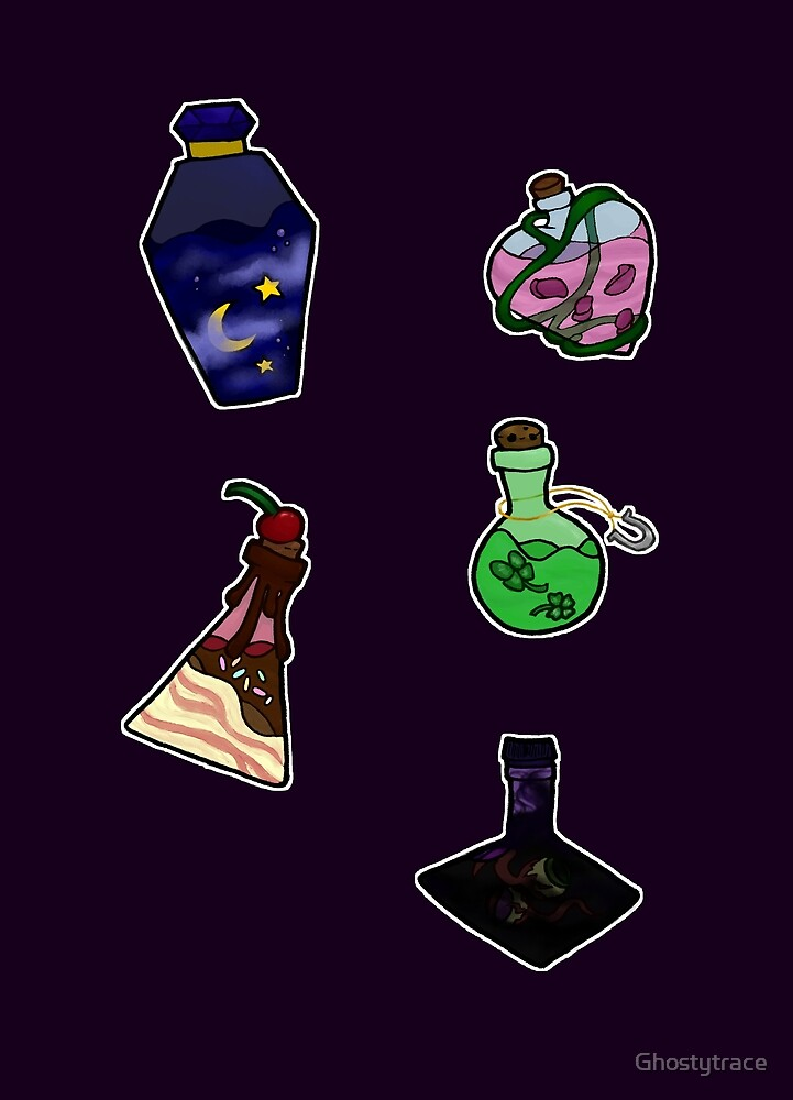 Potions by Ghostytrace