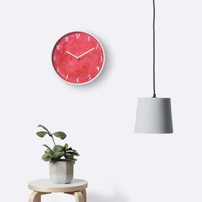 watercolor clock by madisonmae516