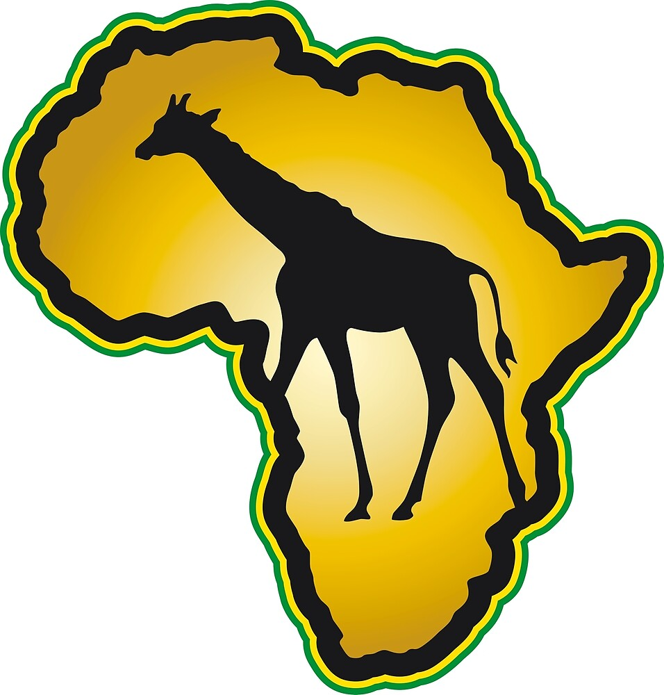 Africa giraffe wilderness savannah Serengeti by Helen-Storm