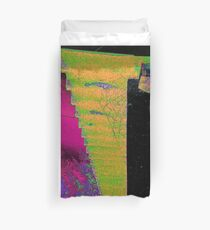 Cobweb colorful Duvet Cover