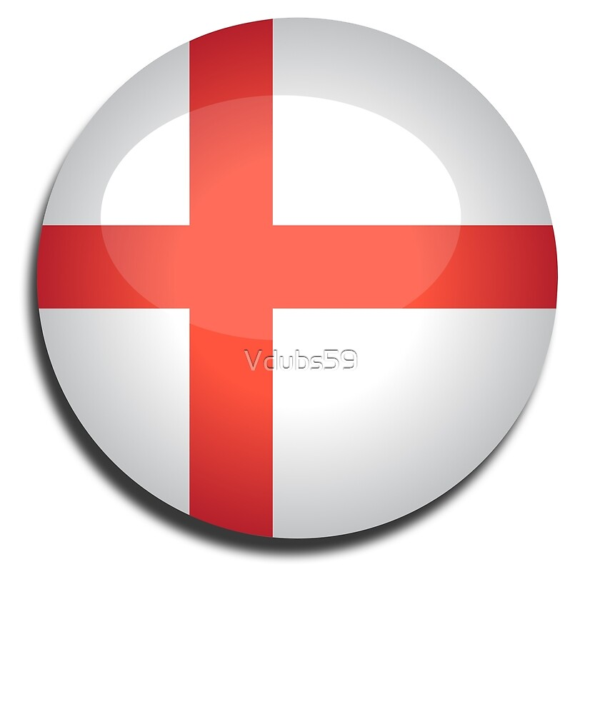 England Flag  by Vdubs59