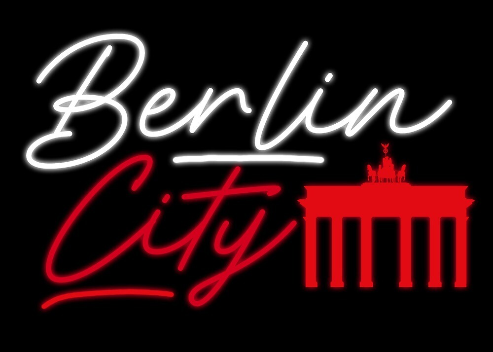 Berlin City Gift Idea Limited  Edition by xPliC1t