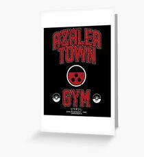 Azalea Town Gym Greeting Card
