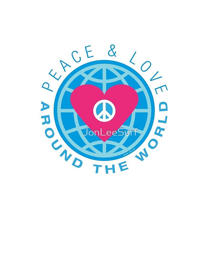 Peace & Love Around the World by JonLeeSurf