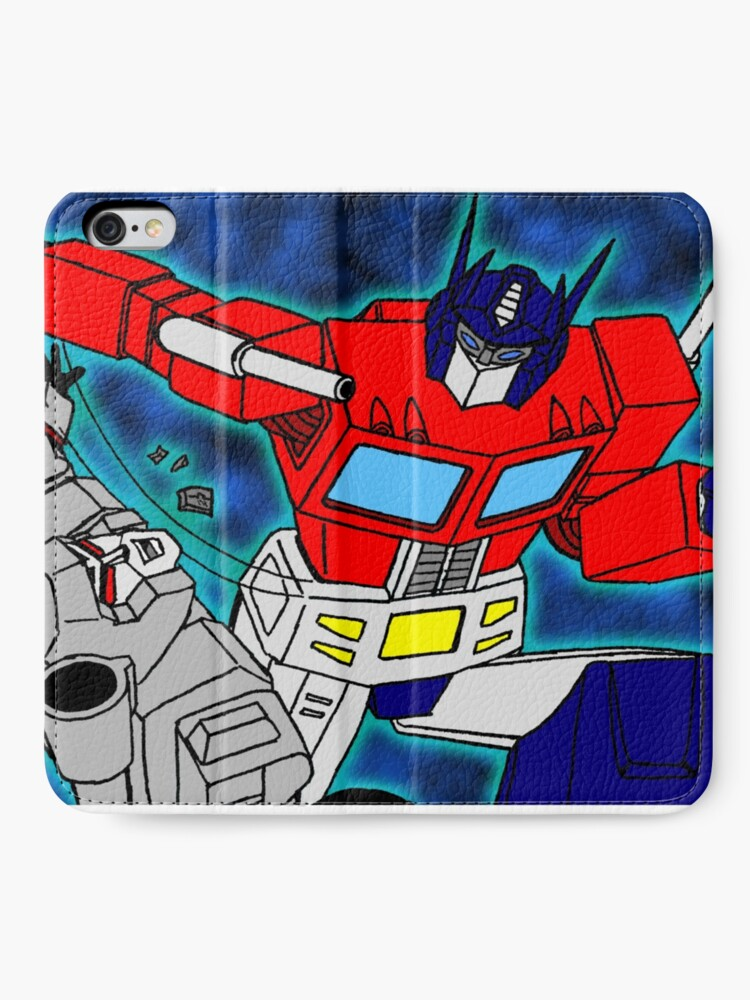 Alternate view of robots  iPhone Wallet