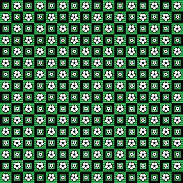 Soccer Motif Pattern by DFLCreative