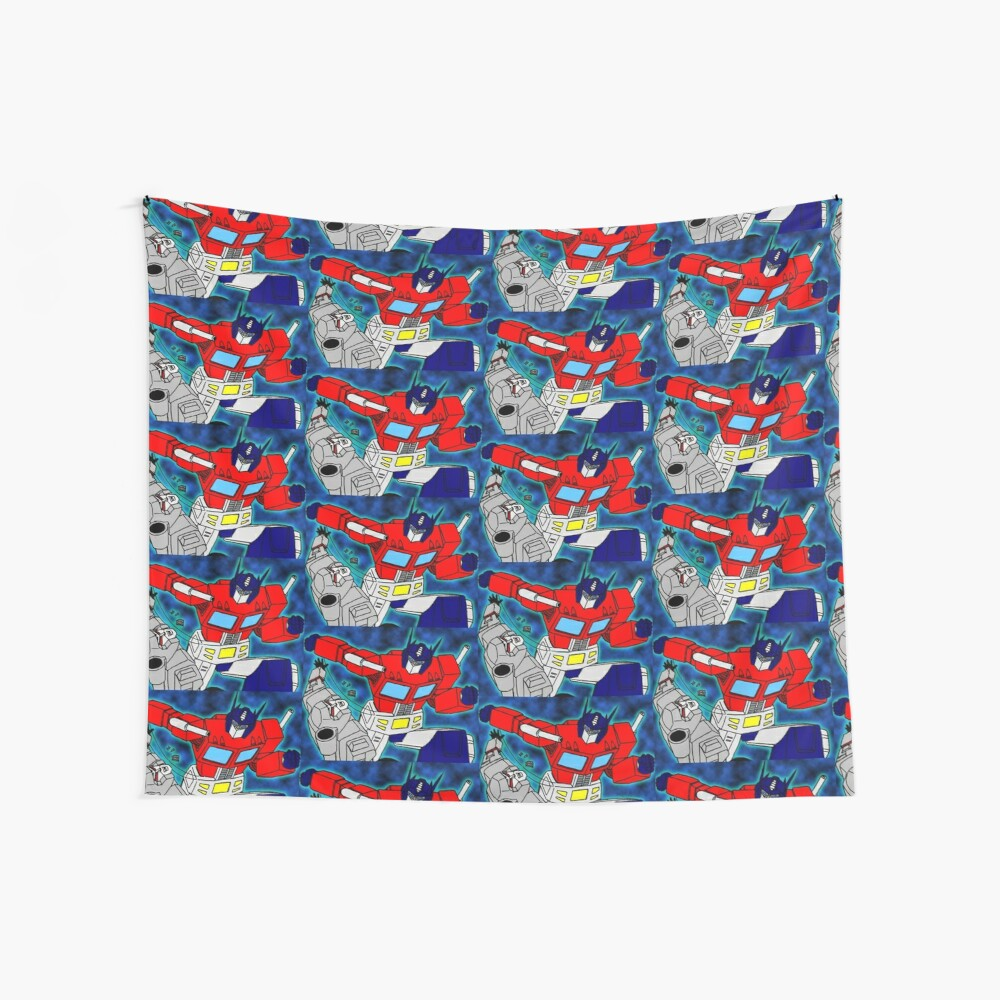 robots  Wall Tapestry