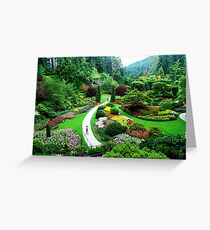 Butchart's Gardens Greeting Card